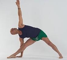 Trikonasana, fiche posturale cours de yoga massage, paris bastille nation gare de lyon