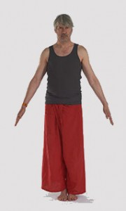 fiche posturale détaillée de tadasana la posture de yoga de la montagne.