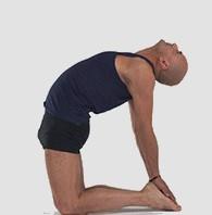 Fiche posturale détaillée de Ustrasana la posture du chameau.