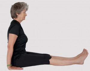 fiche posturale détaillee de dandasana la posture du baton. Centre de yoga paris bastille 12e